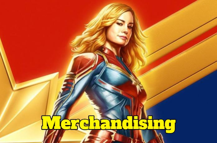 merchandising capitana marvel regalos captain marvel