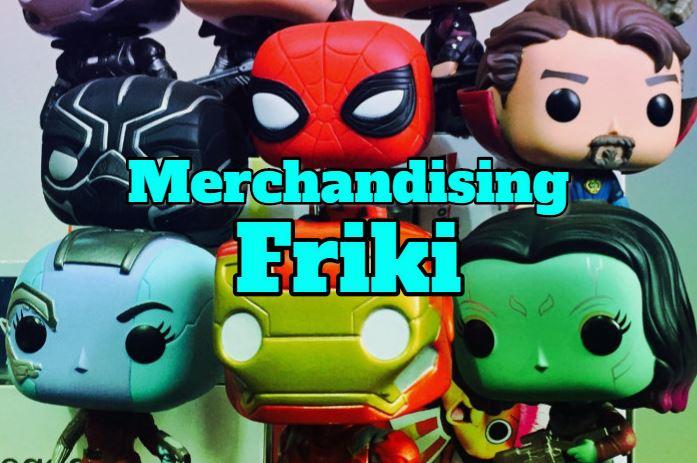 merchandising friki, productos frikis, colecciones frikis, merchandising friki original