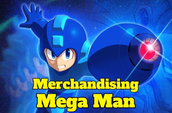 merchandising juguetes productos de mega man