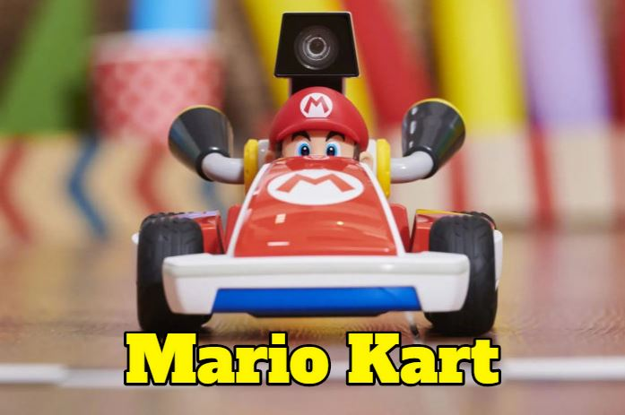 merchandising mario kart, comprar juguetes accesorios ropa de mario kart