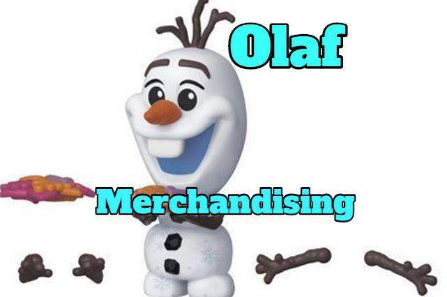 merchandising olaf, regalos productos ropa de olaf