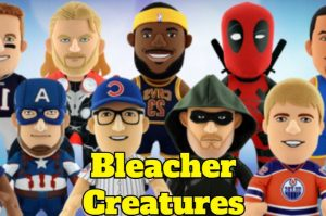 muñecos de peluche bleacher creatures en venta