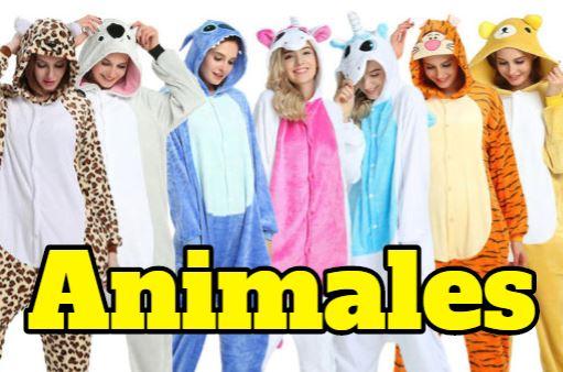 pijamas frikis animales, pijamas de animales