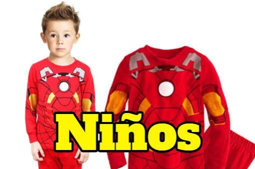 pijamas frikis para niños y niñas