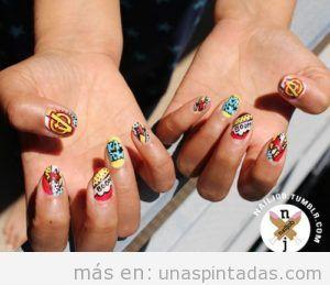 pinturas de uñas frikis