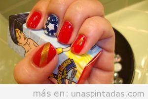 diseño de uñas originales divertidas