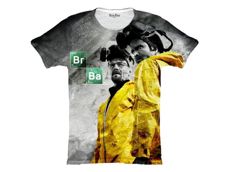 Camisetas Breaking Bad estampada jessie y walter