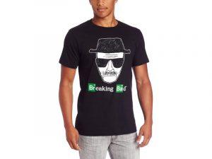 chico con Camisetas Breaking Bad