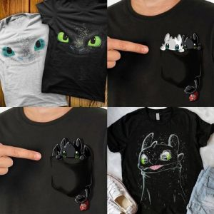 varias Camisetas Como Entrenar a tu Dragón