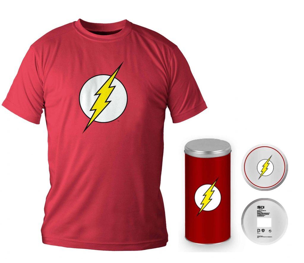 Camisetas DC Comics de flash