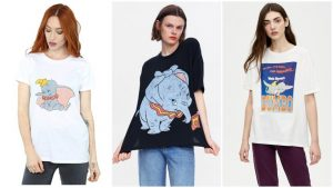 chicas con Camisetas Disney
