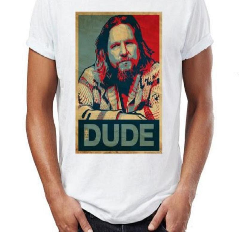 hombre con Camisetas El Gran Lebowski