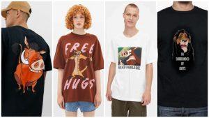 comprar camisetas de El rey León baratas para hombres mujeres y niños y adultos