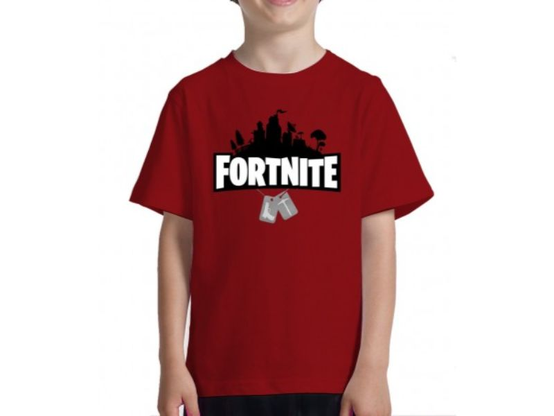 niño con Camisetas Fortnite