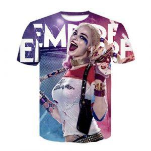 Camisetas de Harley Quinn para mujeres y niñas con letras, harley quinn camiseta