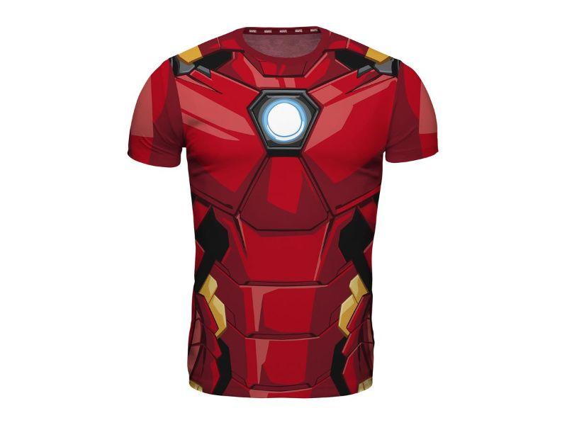 Camisetas Iron Man roja