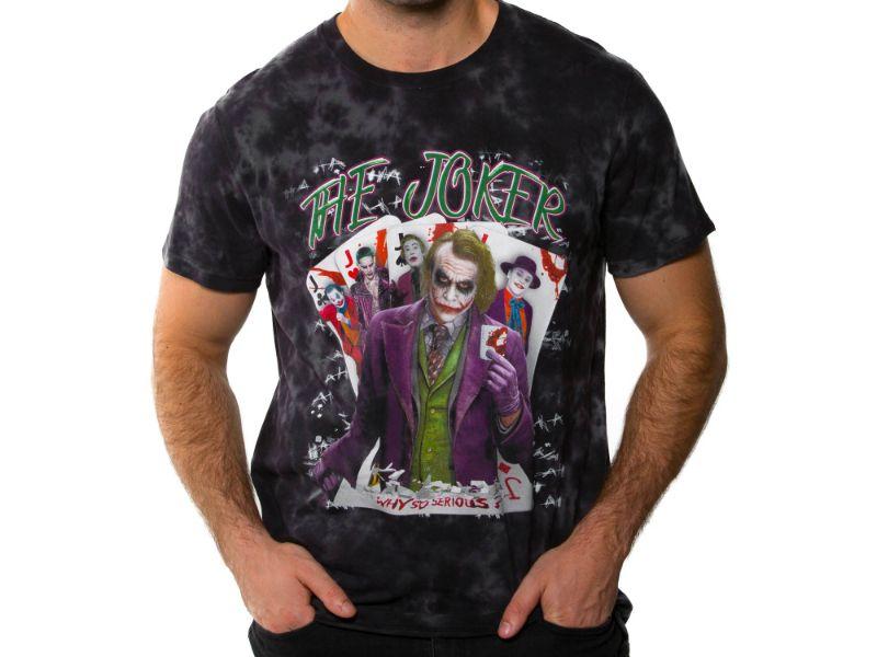 chico con Camisetas Joker