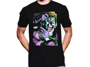 Camisetas Joker negra
