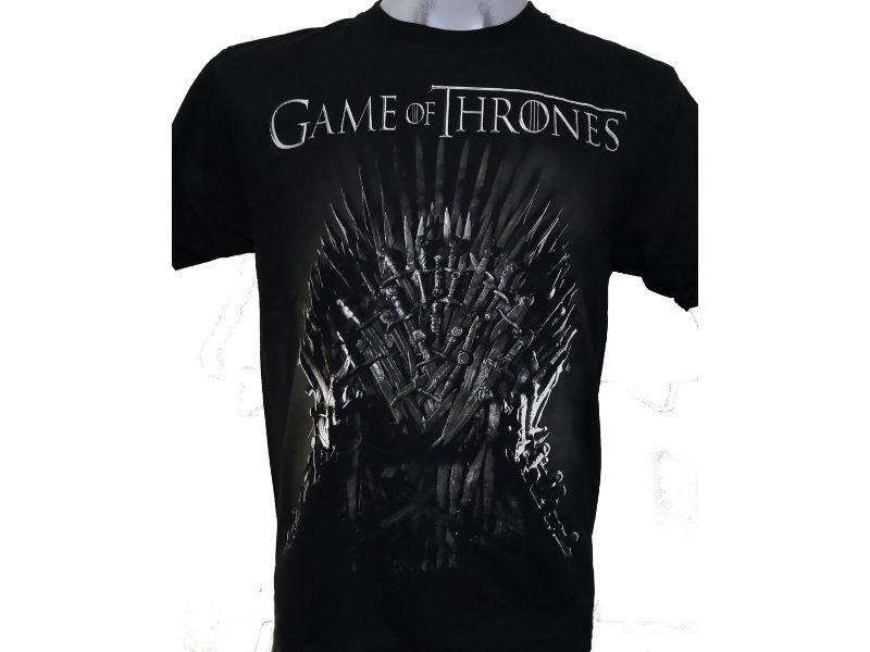 Camisetas Juego de Tronos negra