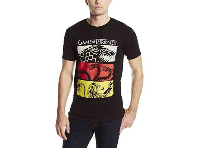 hombre con Camisetas Juego de Tronos