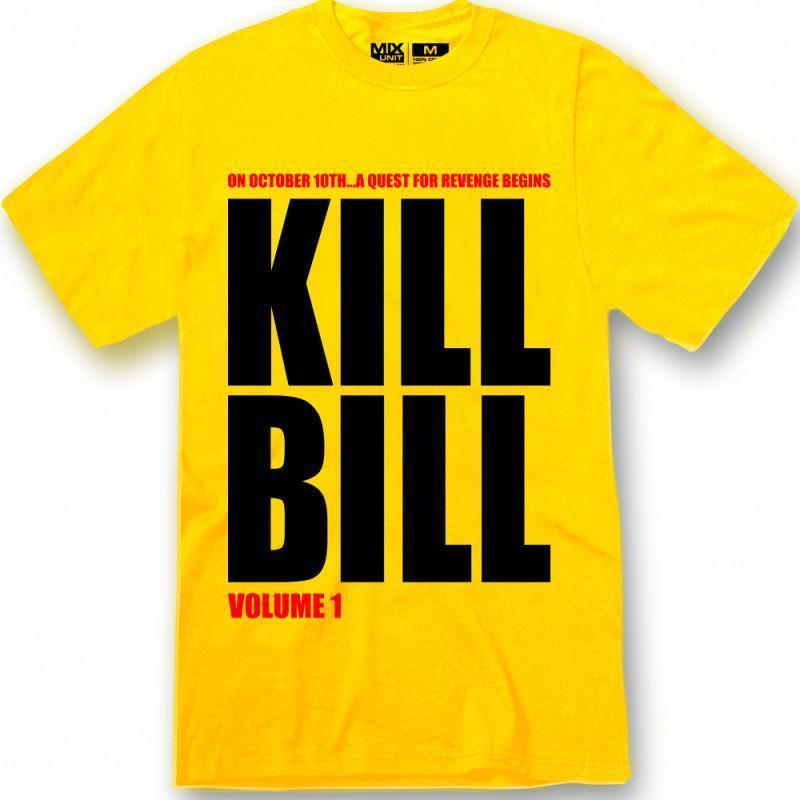 Camisetas Kill Bill amarilla