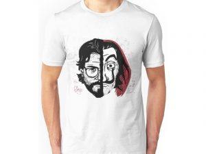 chico con Camisetas La Casa de Papel 2