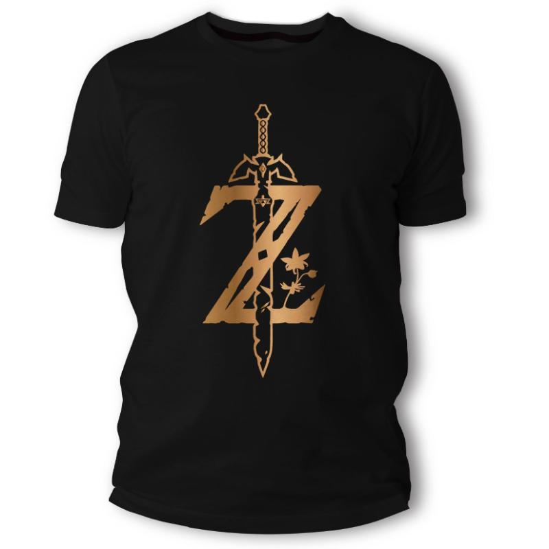 Camisetas Legend of Zelda negra