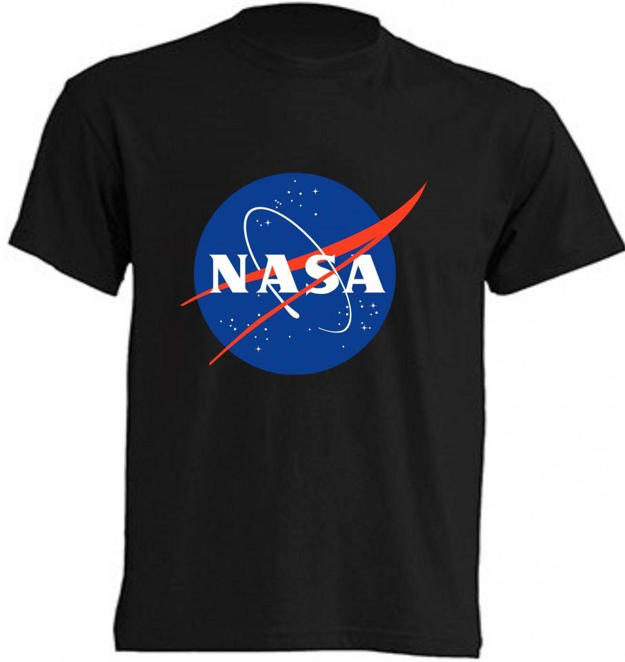 Camisetas NASA negra