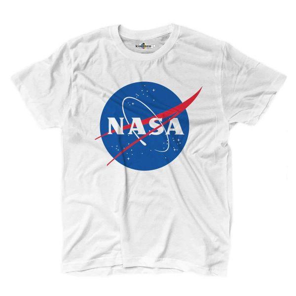 Camisetas NASA blanca