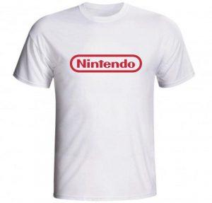 Camisetas Nintendo blanca