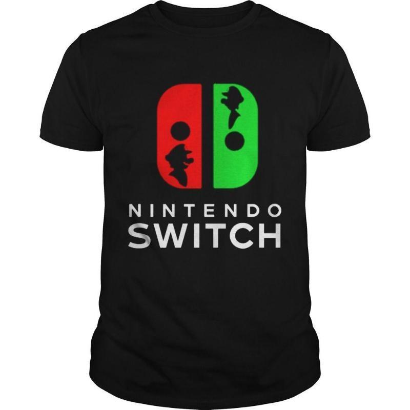 Camisetas Nintendo switch