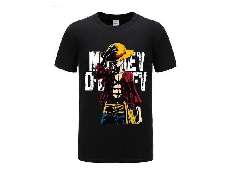 Camisetas One Piece negra