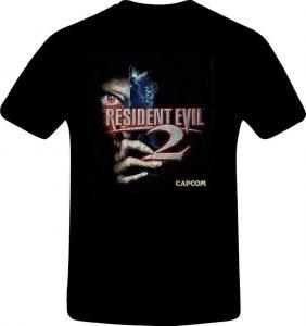 Camisetas Resident Evil negra