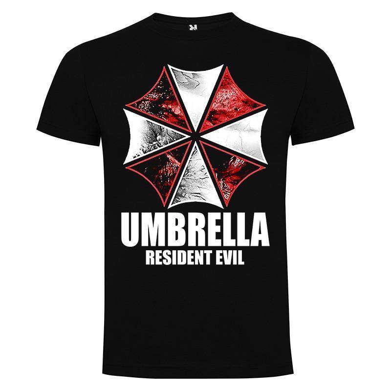 Camisetas Resident Evil umbrella