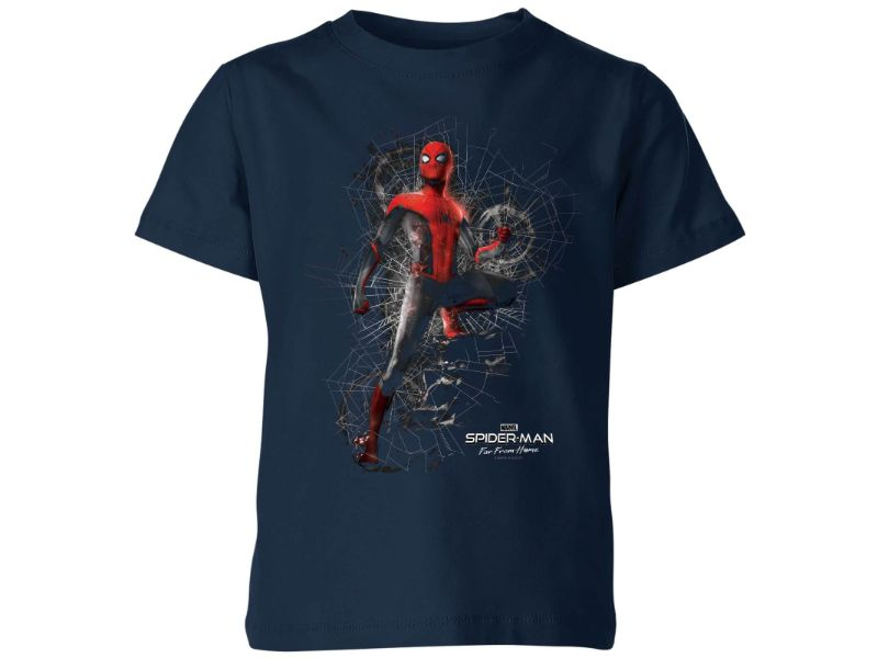 Camisetas Spiderman azul