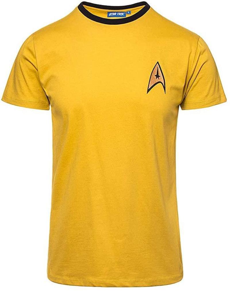 Camisetas Star Trek amarilla