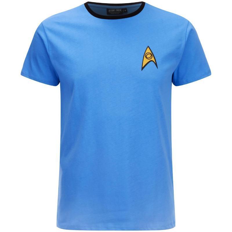 Camisetas Star Trek azul