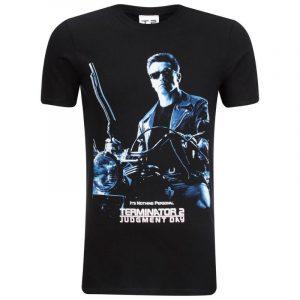 Camisetas Terminator negra original