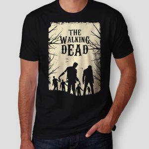 chico con Camisetas The Walking Dead