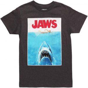 Camisetas Tiburón negras