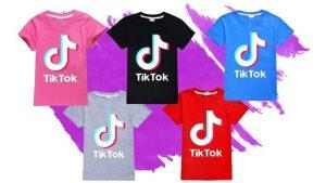 Comprar camisetas con el logo de Tik Tok en varios colores y diseños.