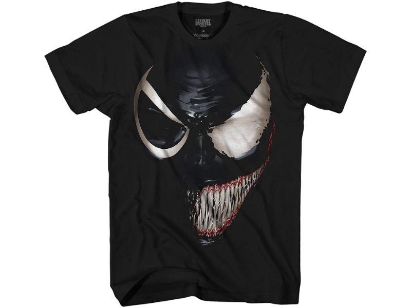 Camisetas Venom negra