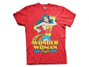 Camisetas Wonder Woman con superchica