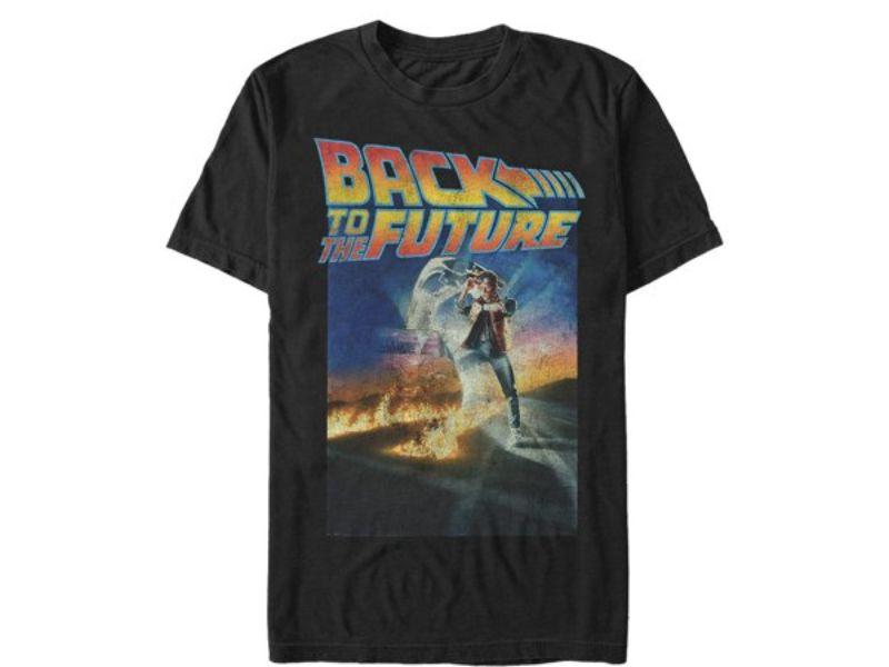 Camisetas regreso al futuro negras