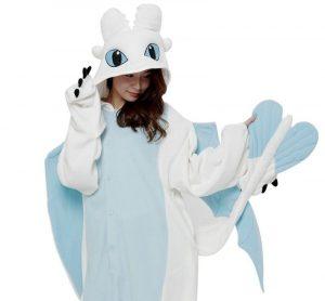 Pijamas cómo entrenar a tu Dragón para mujer