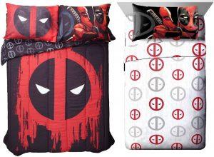Sabanas Deadpool, comprar edredones de deadpool, colchas de deadpool ropa de cama en venta