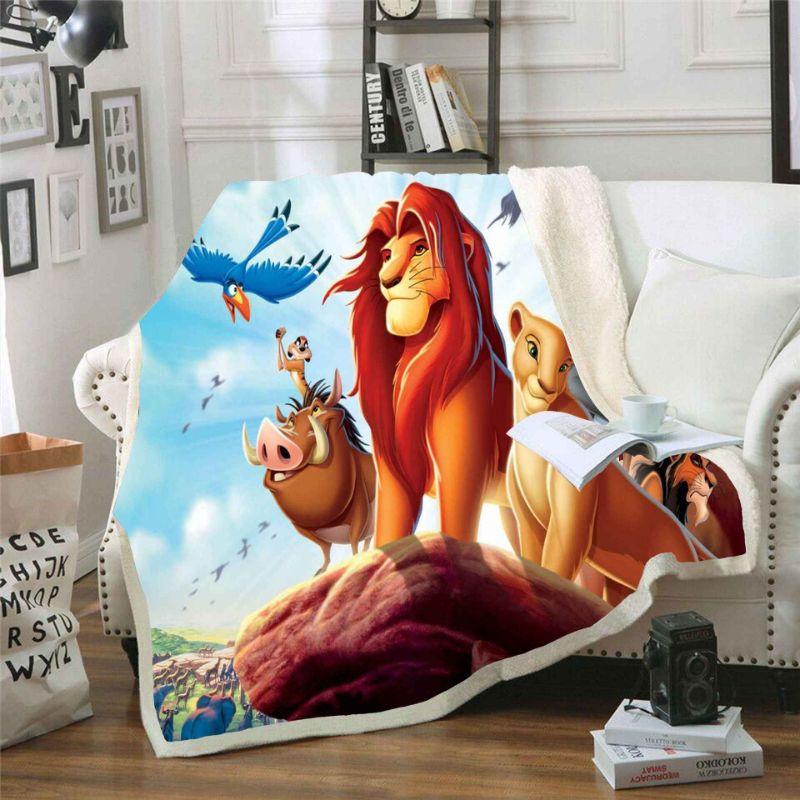 Sabanas El Rey Leon 2 edredon del rey leon