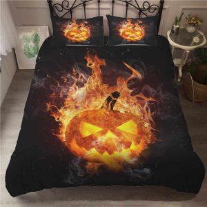 Sabanas Halloween 1 y edredones halloween, ropa de cama halloween