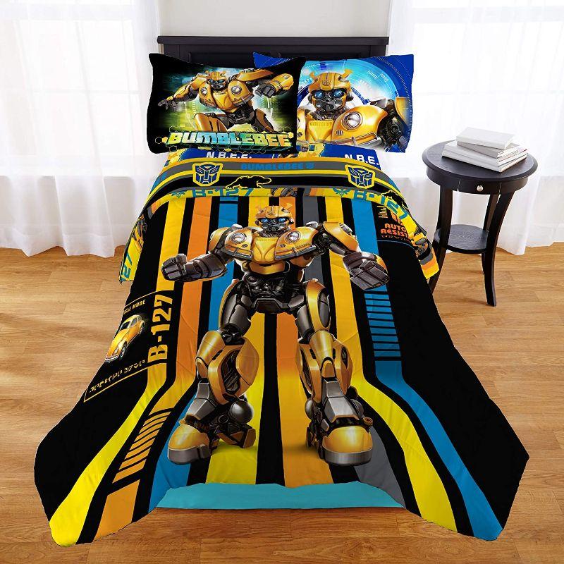 Sabanas Transformers edredon transformers