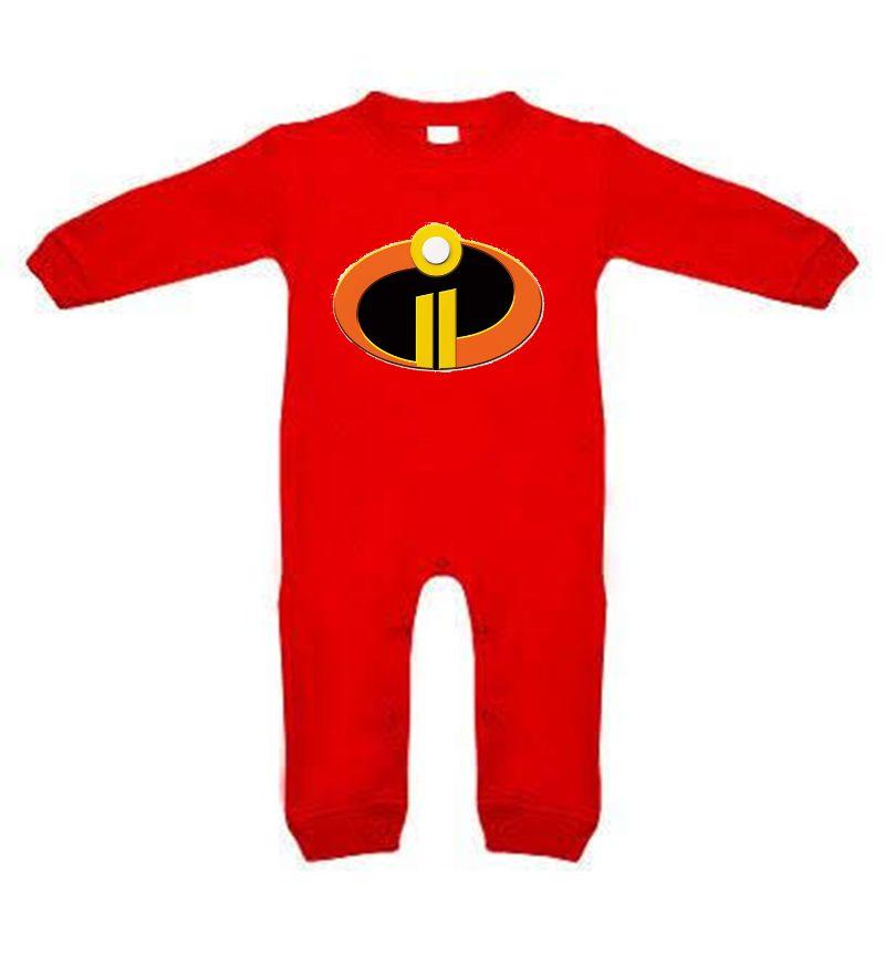 enterizo pijama los increibles